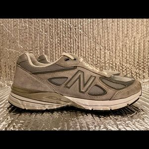 New Balance 990V4 W990GL4 Running Walking Shoes Gray Women's Size 10